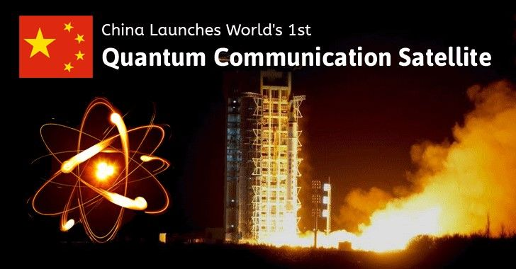 """Beijing's Quantum Satellite Another """"First"""" in the 21st Century Space Race"""