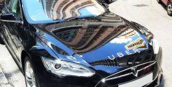 Uber launches EV fleet in Madrid, adding Tesla Model S
