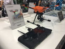 YUNEEC shows off its H520 drone in CES Asia 2017 to challenge DJI